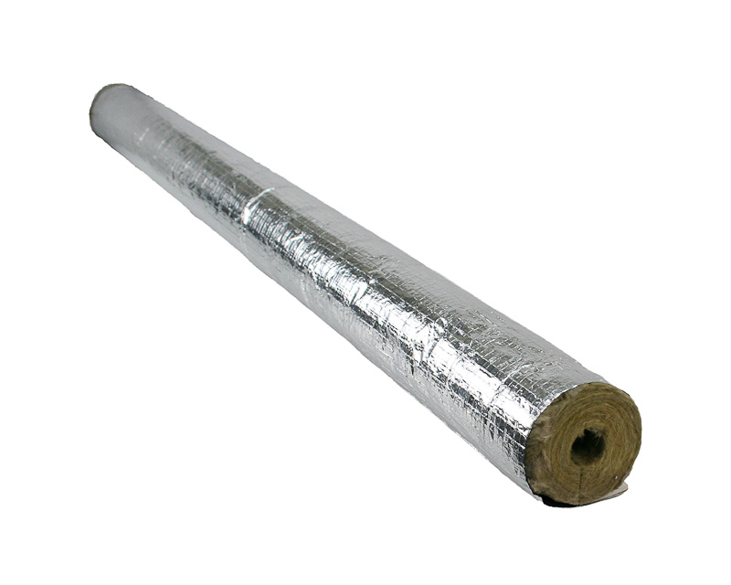 Insulating steam pipes